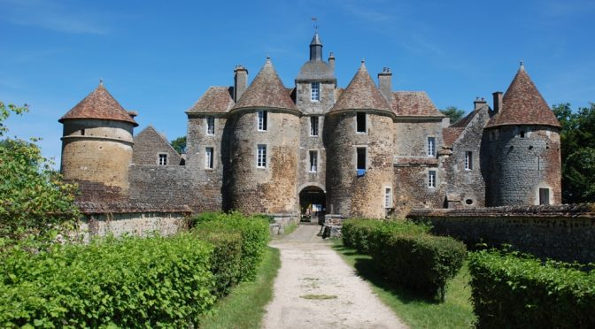 Anne TASTEMAIN au château de Ratilly