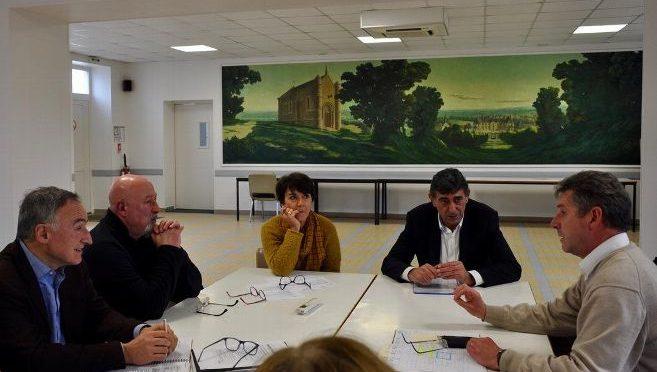 Visite de notre député, Patrice Perrot