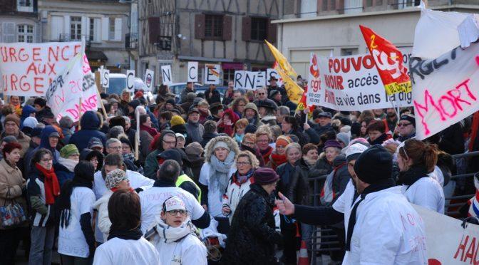 Manifestation à Clamecy – ils étaient là !