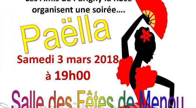 Paella à Menou