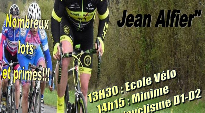 Course cycliste – Jean Alfier